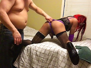 CD Claudia lets her friend used her april encounter